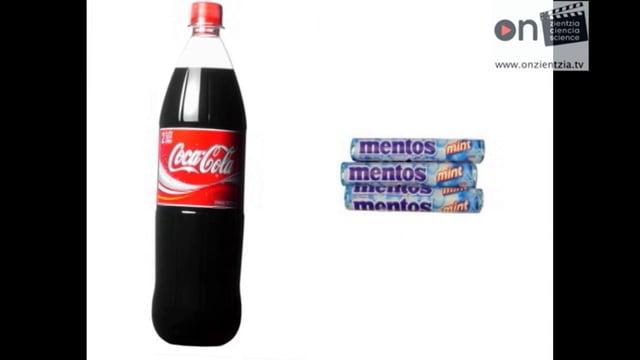 Mentos  +  Coca  Cola